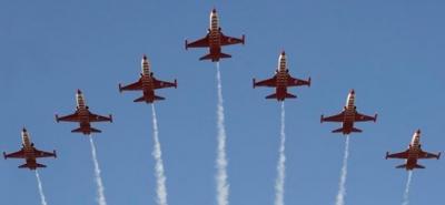 SOLOTÜRK'ün Rize'deki Gösteri Uçuş Saati Belli Oldu