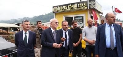 TBMM Başkanı İsmail Kahraman Rize ye geldi
