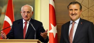 TBMM Başkanı Kahraman ve Bakan Osman Aşkın Bak, Bayramda Rize'de