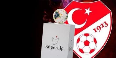 TFF, Süper Lig'in 5 haftalık programını açıkladı