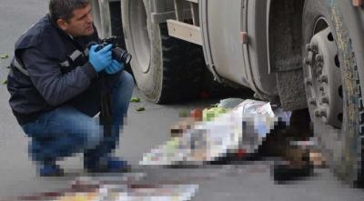 Trabzon'da beton mikserinin altında kalan kişi öldü