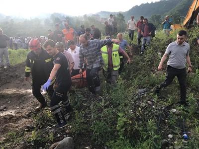 Trabzon'da Sel Felaketi 6 Ölü 4 Kayıp