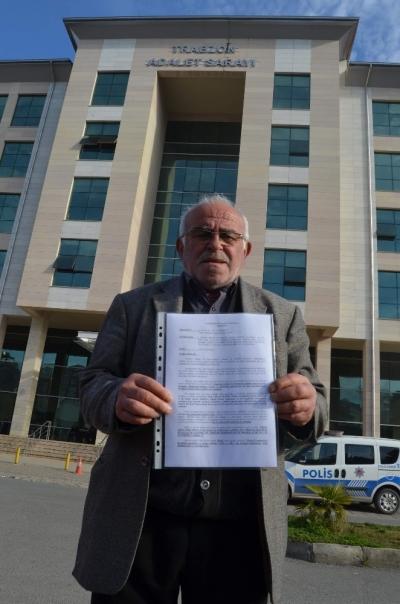 Trabzonlu vatandaş ABD hakkında suç duyurusunda bulundu
