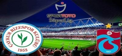 Trabzonspor - Çaykur Rizespor Maçı Biletleri Satışa Sunuldu