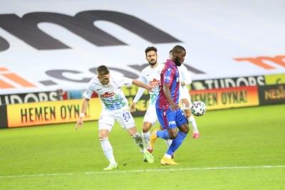 Trabzonspor, Rizespor'u 2 golle geçti