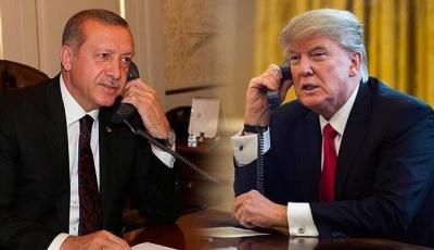 Trump, Erdoğan'ı aradı