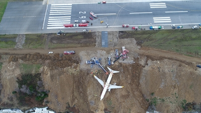Uçak Bulunduğu Yerden Kaldırılıyor