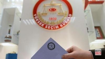 YSK, 31 Mart yerel seçimine katılabilecek partileri açıkladı.