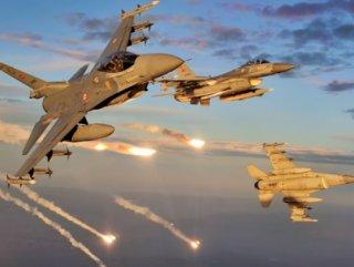 Zap bölgesindeki PKK hedeflerine hava harekatı düzenlendi