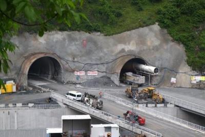 Zigana Tüneli inşasında yarıya gelindi