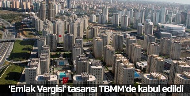 'Emlak Vergisi' tasarısı TBMM'de kabul edildi